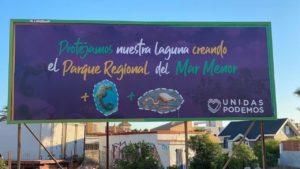 Valla por la creación del Parque Regional del Mar Menor