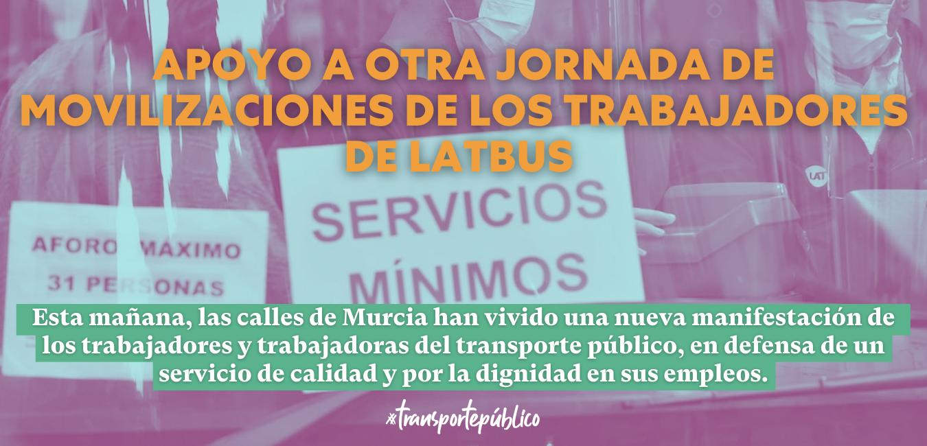 apoyo huelga latbus