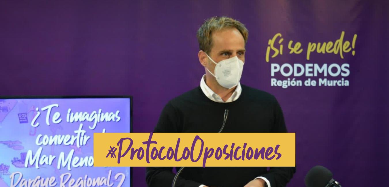 protocolo oposiciones